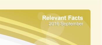 Relevant Facts - September 2016